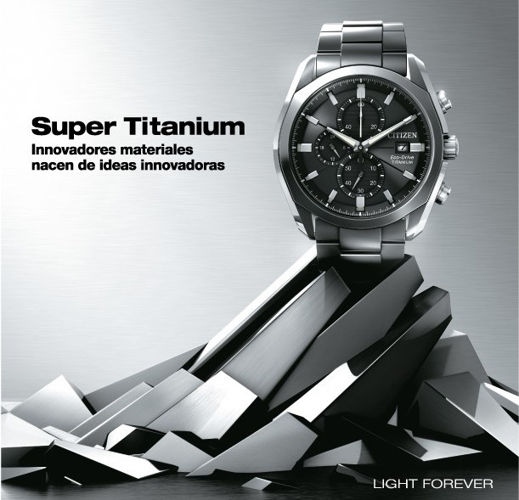 Citizen Eco-Drive-Super Titanium