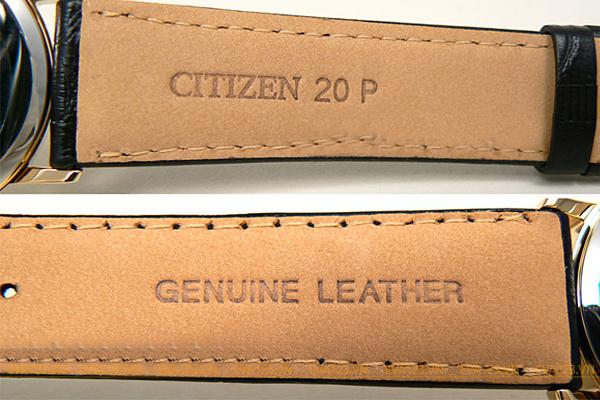 Đồng hồ Citizen EW1282-03A nữ dây da thuộc