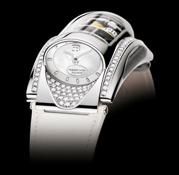 Đồng hồ đẹp Bugatti Type 370 mặt trắng
