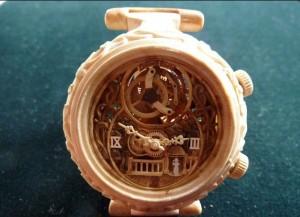 Đồng hồ nam từ gỗ tinh xảo thời trang