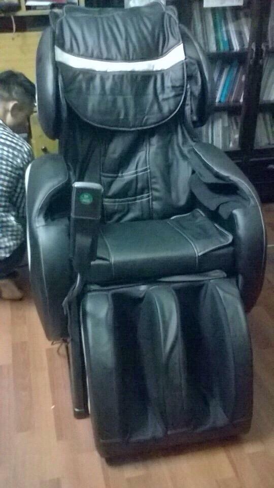 Ghế massage toàn thân Shachu 996 màu đen