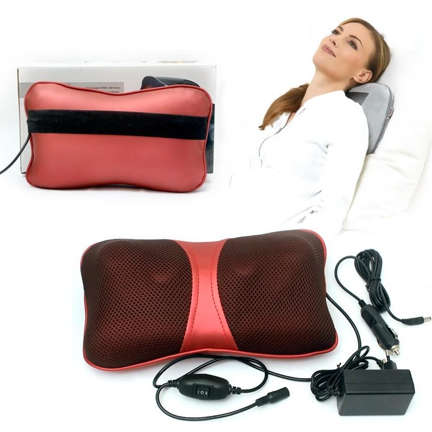 Gối massage hồng ngoại Shachu 818 thư giãn mọi tư thế