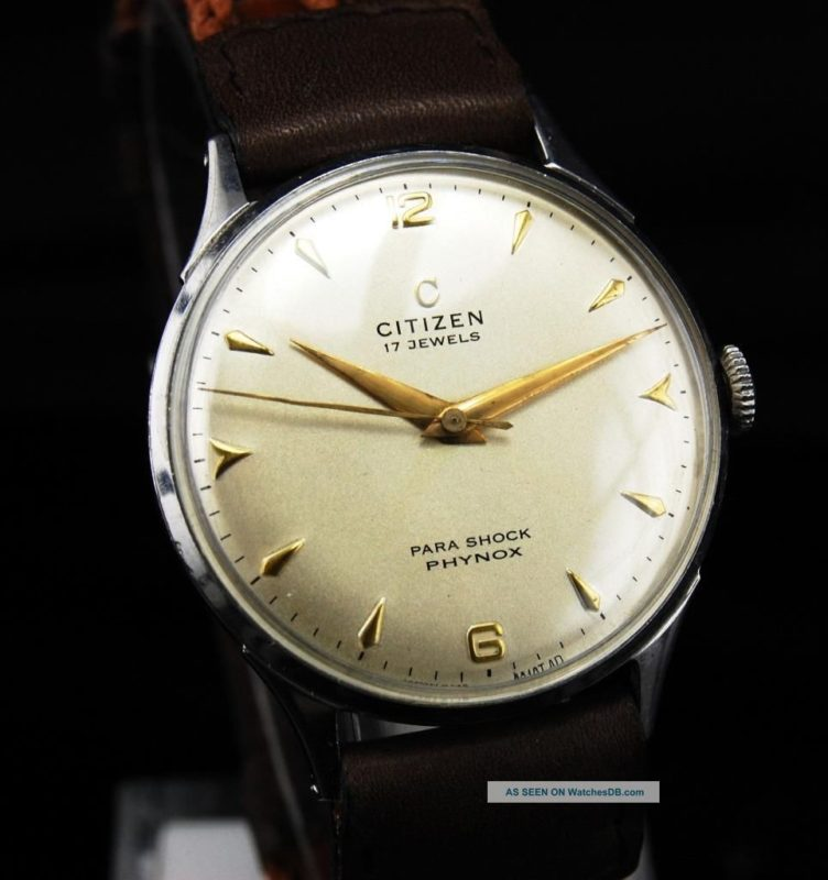 đồng hồ Citizen chống sốc