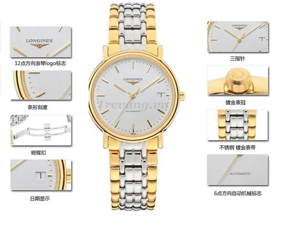 Đồng hồ Longines L4.821.2.18.7 automatic sapphire