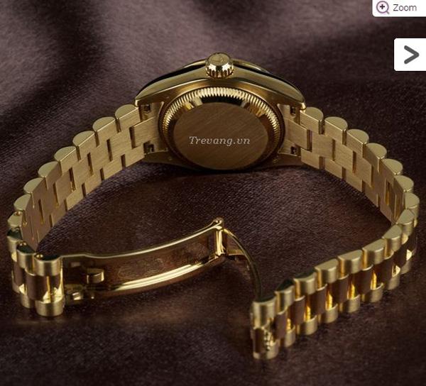 Đồng hồ Rolex Datejust Full Gold Diamond dây đeo