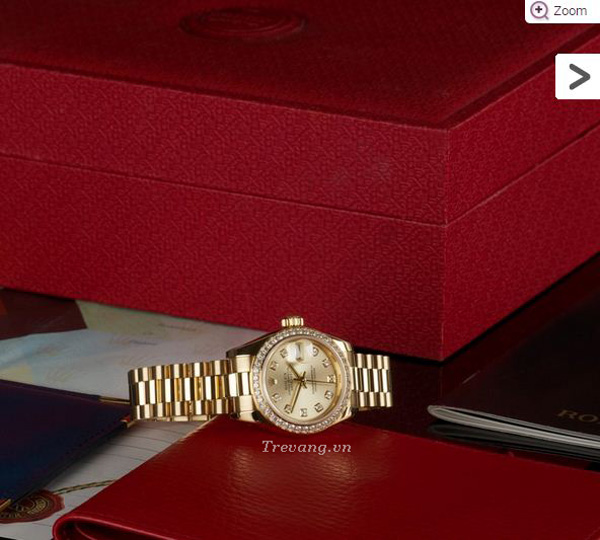 Đồng hồ Rolex Datejust Full Gold Diamond setbox