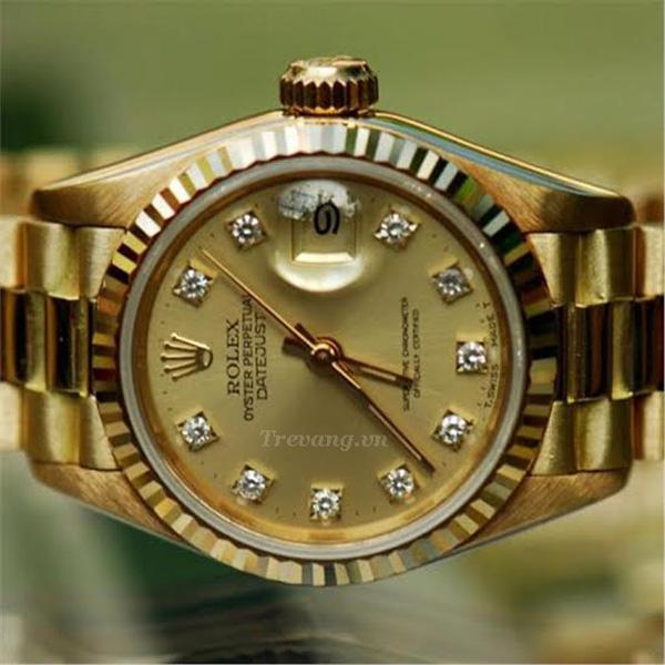 Đồng hồ Rolex Datejust full gold đẹp tinh tế