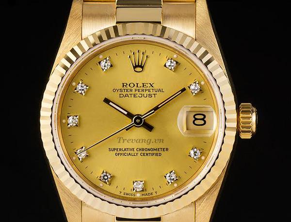 Đồng hồ Rolex Datejust full gold sang trọng