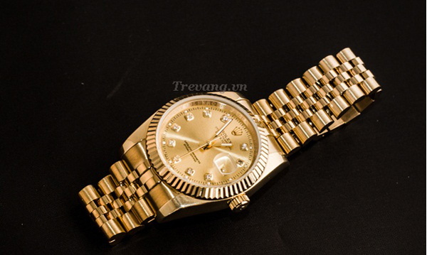 Đồng hồ Rolex Datejust full gold tinh xảo