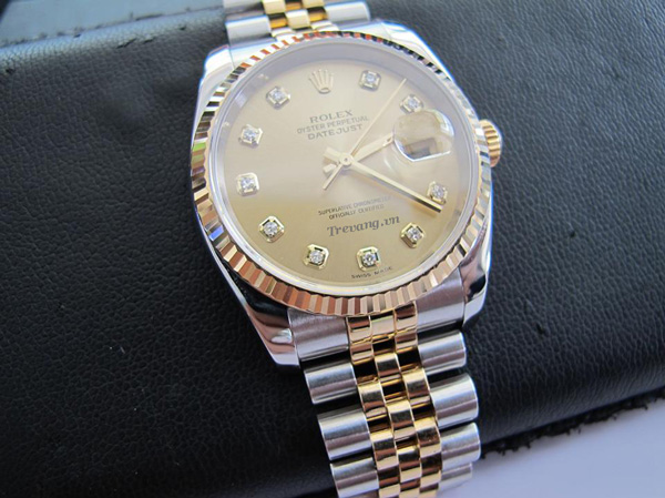 Đồng hồ Rolex Datejust Demi mạ vàng 18k