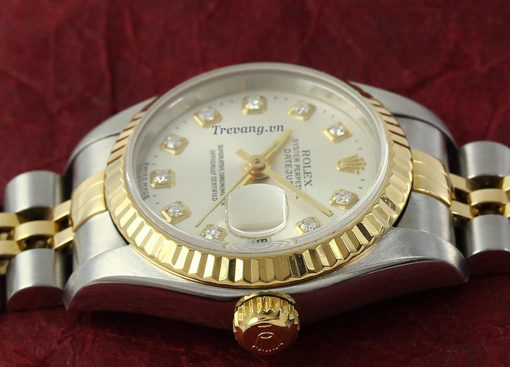 Đồng hồ Rolex nam Datejust Demi máy quartz