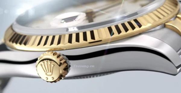 Đồng hồ Rolex Datejust Demi núm chỉnh