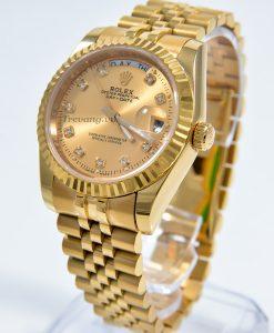 Đồng hồ Rolex nam Datejust Full Gold Day Date