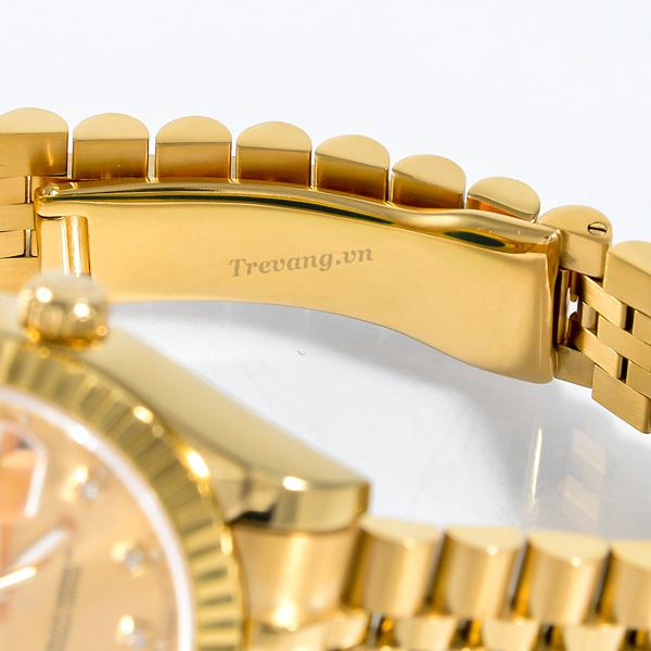 Đồng hồ Rolex nam Datejust Full Gold Day Date chốt gài