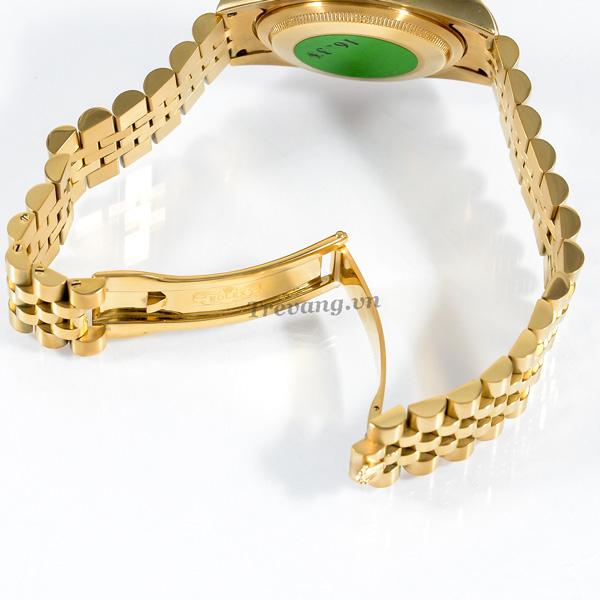 Đồng hồ Rolex nam Datejust Full Gold Day Date chốt gập