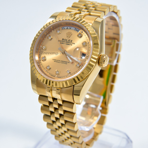 Đồng hồ Rolex nam Datejust Full Gold Day Date