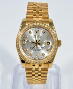 Đồng hồ Rolex nam Datejust full gold tinh tế mọi góc nhìn