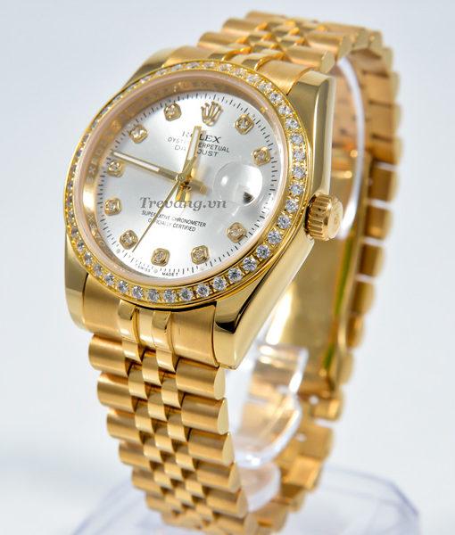 Đồng hồ Rolex nam Datejust full gold