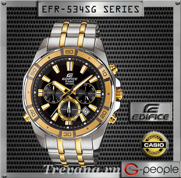 Đồng hồ Casio nam EFR-534SG-1AV Edifice