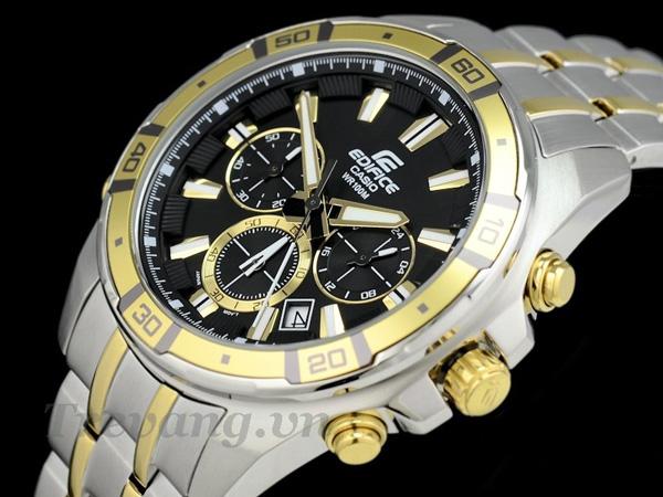Đồng hồ Casio nam EFR-534SG-1AV WR 100M