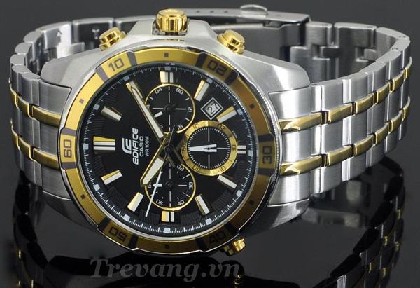 Đồng hồ Casio nam EFR-534SG-1AV mặt đen