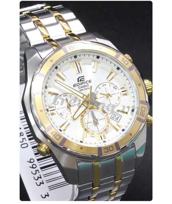 Đồng hồ Casio nam EFR-534SG-7AV mạ vàng