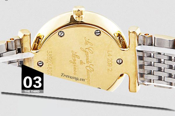 Đồng hồ Longines nữ L4.209.2.11.7 mặt sau