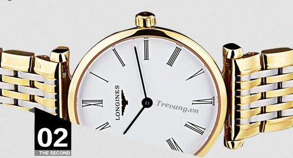 Đồng hồ Longines nữ L4.209.2.11.7 mặt trắng thanh lịch