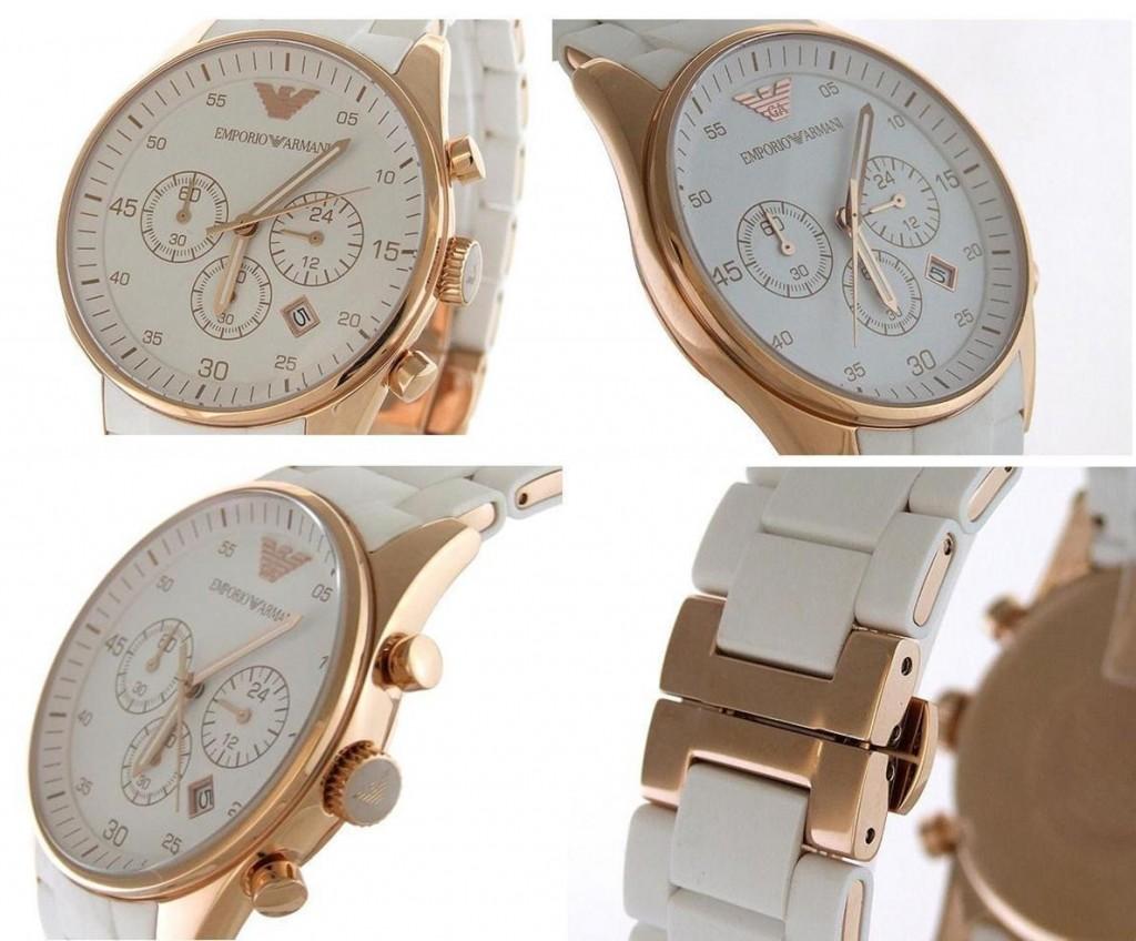 Đồng hồ nam Armani AR5919 dây đeo mềm mại