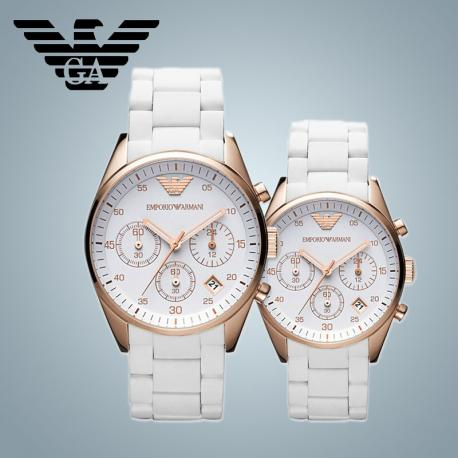 Đồng hồ nam Armani AR5919 nam và AR5920 nữ