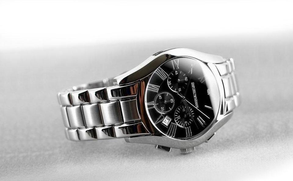 Đồng hồ nam Armani AR0673 vỏ thép không ghỉ