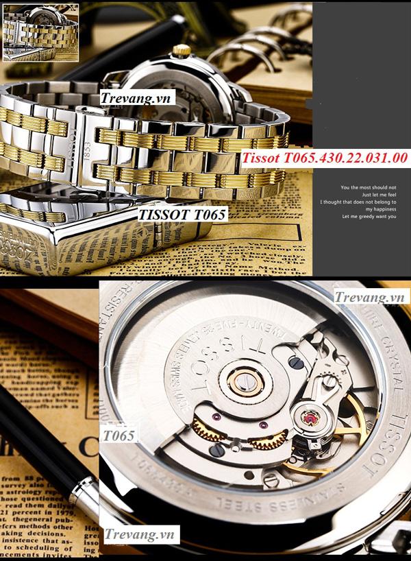 Đồng hồ Tissot T065.430.22.031.00 lộ cơ