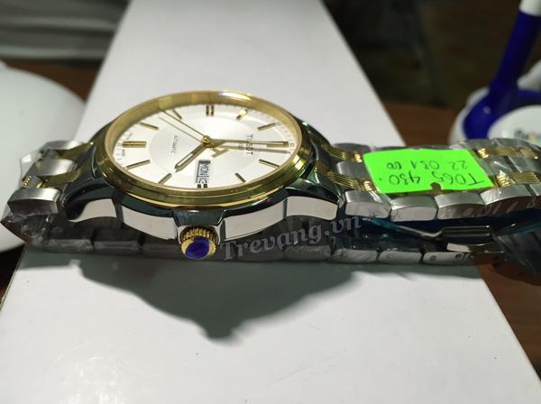 Đồng hồ Tissot T065.430.22.031.00 Automatic núm chỉnh giờ