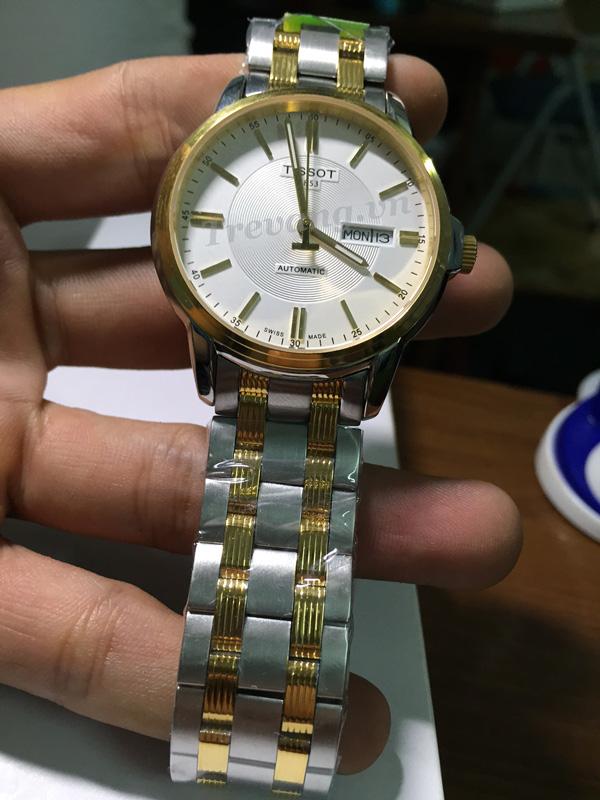 Đồng hồ Tissot T065.430.22.031.00 vỏ dây mạ vàng