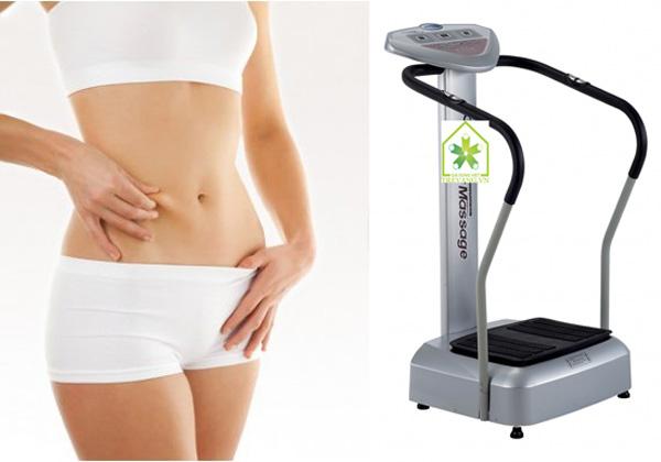 Máy massage giảm cân, Máy rung toàn thân Shachu Hàn Quốc