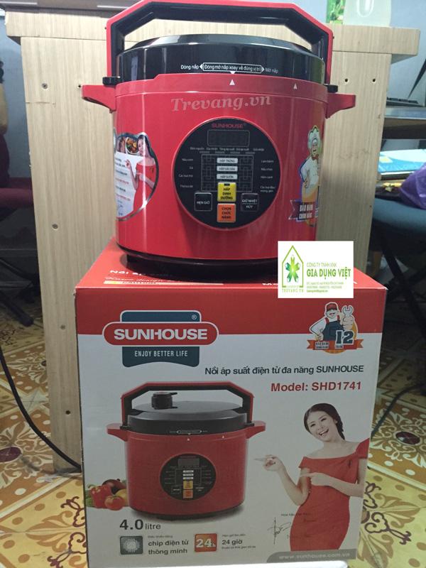 Nồi áp suất điện Sunhouse SHD1741 Hàn Quốc