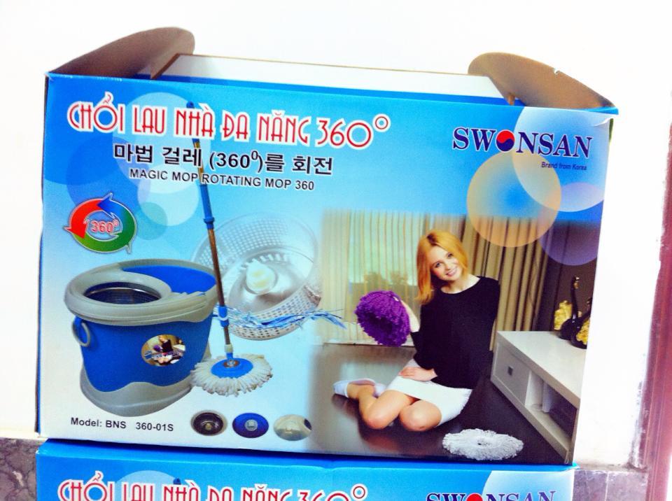 Chổi lau nhà đa năng Swonsan vỏ hộp