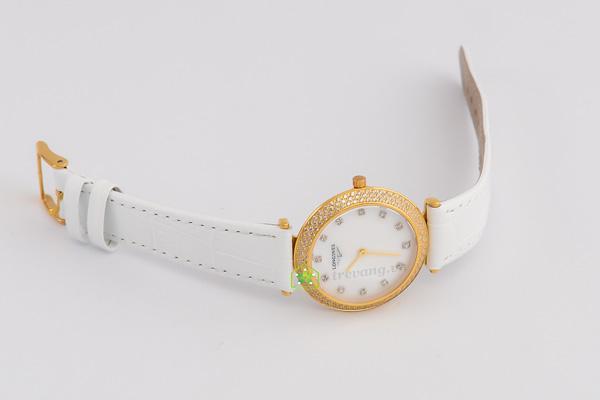 Đồng hồ Longines nữ L4.635.2 mạ vàng đính đá