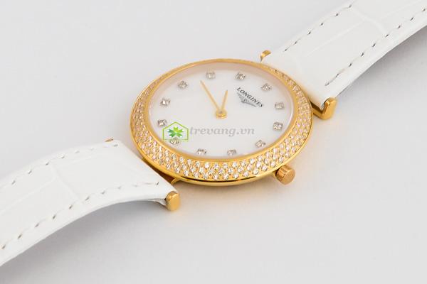 Đồng hồ Longines nữ L4.635.2 mạ vàng sang trọng