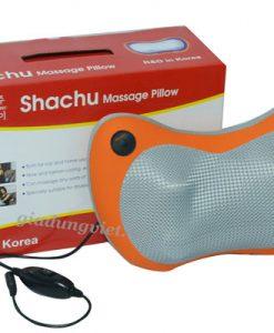 Gối massage hồng ngoại Shachu Sh666 cao cấp