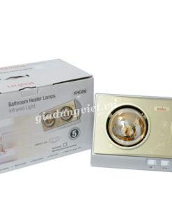 Đèn sưởi nhà tắm Braun KN02G 2 bóng