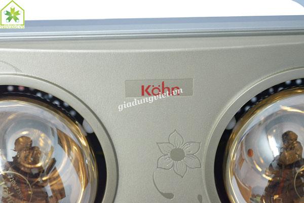 Đèn sưởi nhà tắm Braun KN02G cao cấp