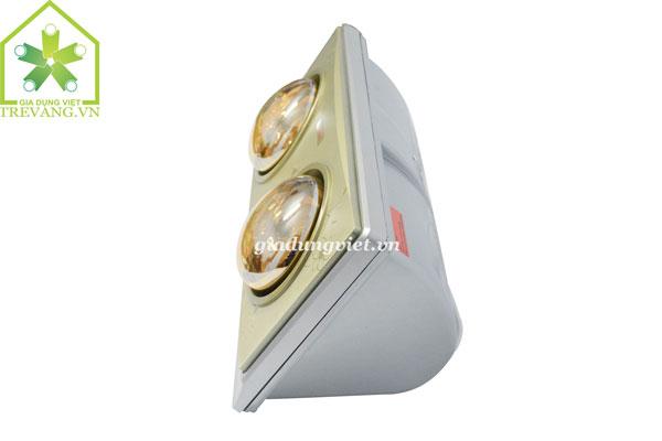 Đèn sưởi nhà tắm Braun KN02G treo tường