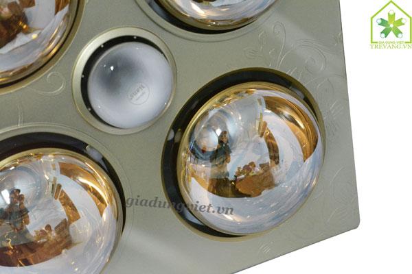 Đèn sưởi nhà tắm Kottmann K4B-T bóng sưởi hồng ngoại