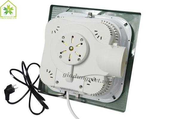 Đèn sưởi nhà tắm Kottmann K4B-T thiết kế mặt sau