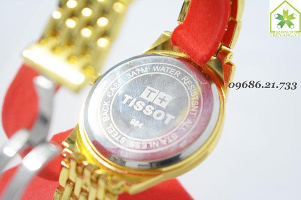 Đồng hồ Tissot nam T41.8 Gold thiết kế mặt sau