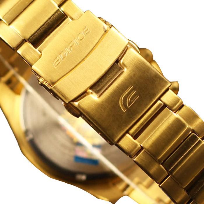 Đồng hồ Casio nam EFR-523FG-9A khoá gập