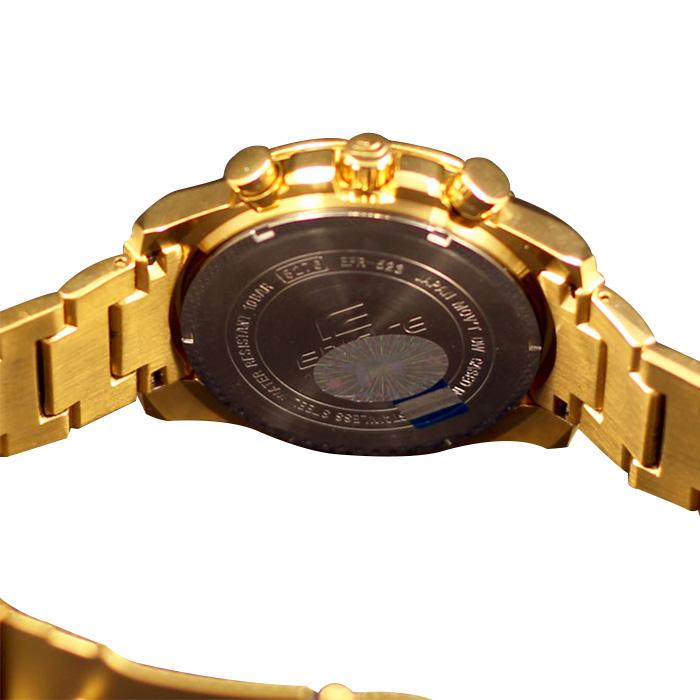 Đồng hồ Casio nam EFR-523FG-9A mặt lưng