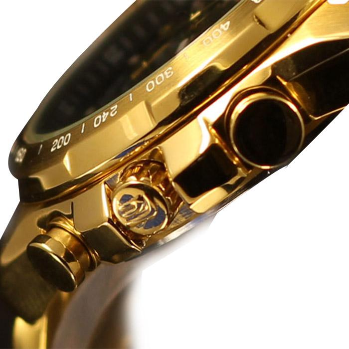 Đồng hồ Casio nam EFR-523FG-9A núm chỉnh giờ