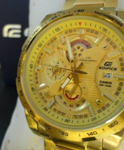 Đồng hồ Casio nam EFR-523FG-9A vàng sang trọng
